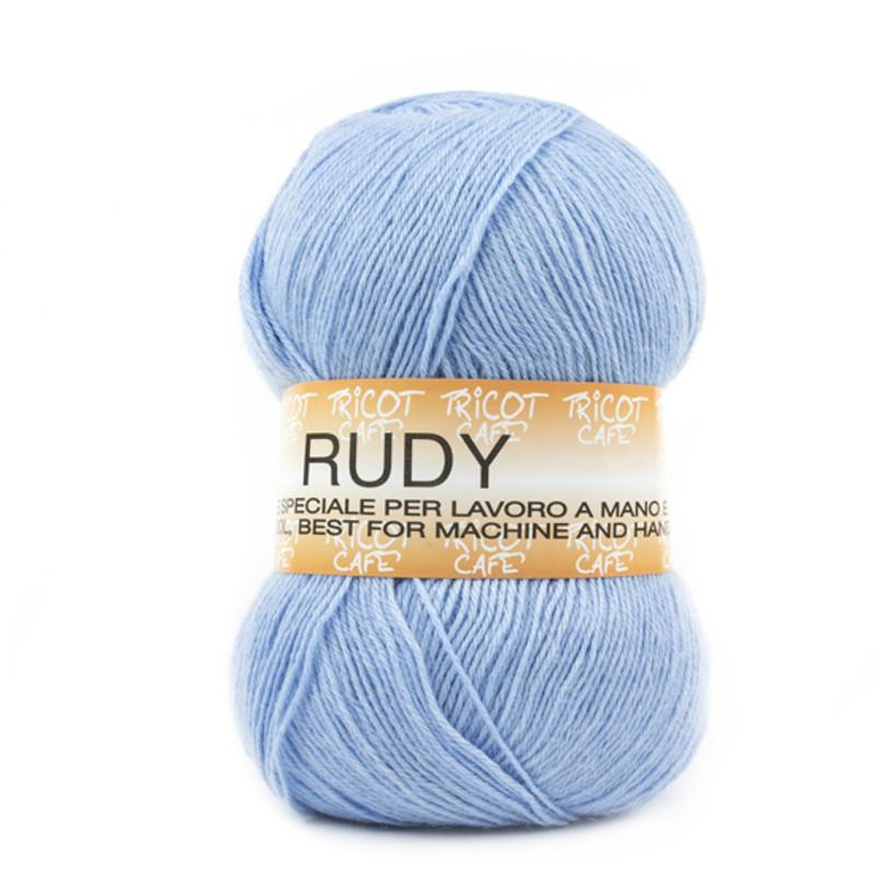 Rudy - Filato misto lana ideale per ogni tipo di lavorazione - Azzurro Baby 23