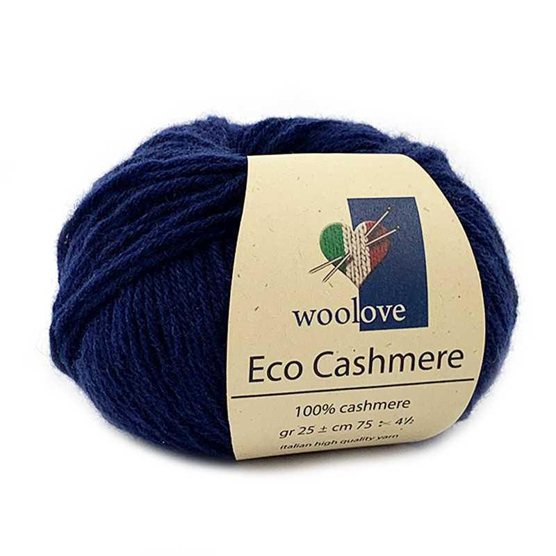 Eco Cashmere Blu Scuro 10031