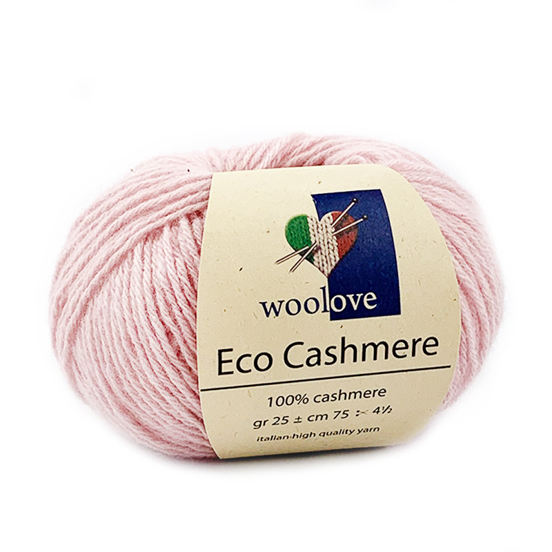 Eco Cashmere Rosa Baby