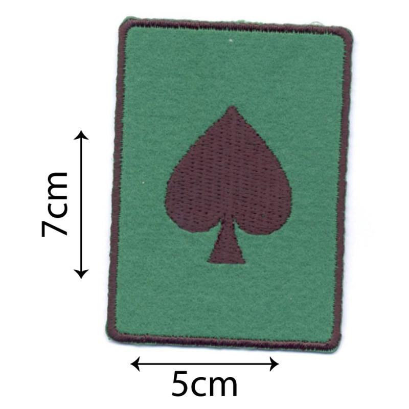Carta da Gioco Picche Verde
