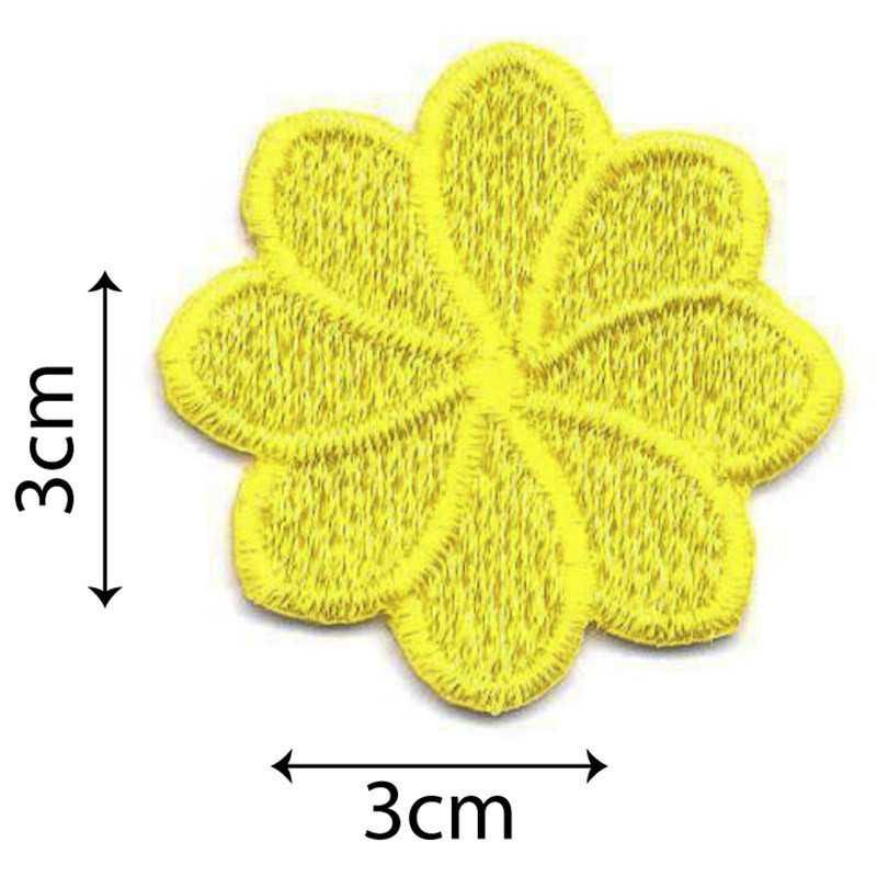 Fiori Gialli 8 Petali.Fiore Medio 8 Petali Giallo 9205 U00