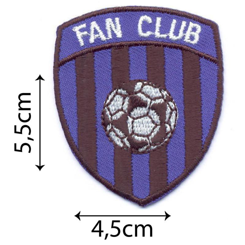 Fan Club Blu Nero Bandiere