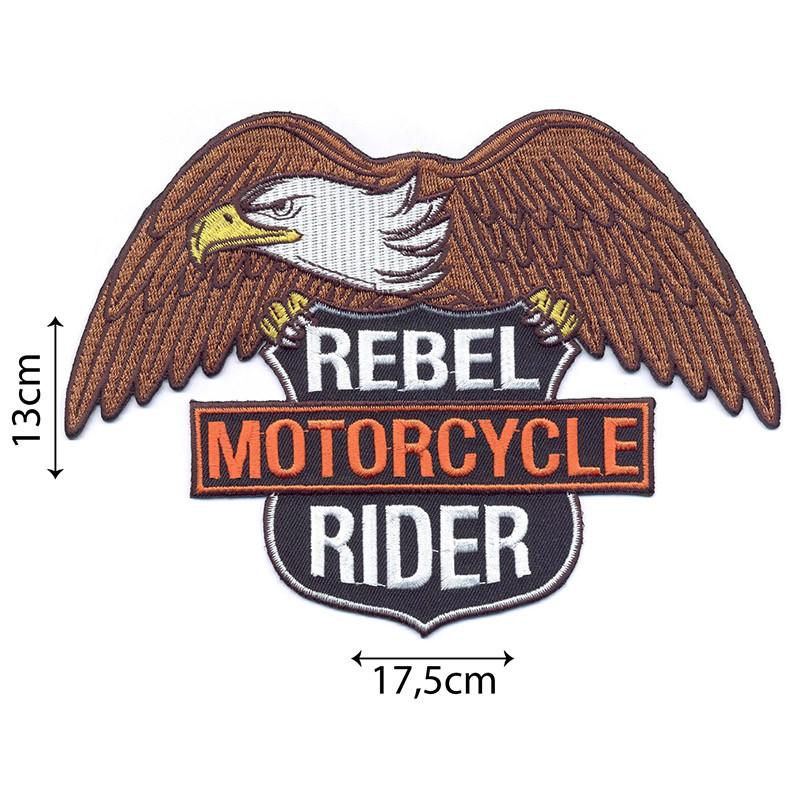 Motorcycle Large Marrone