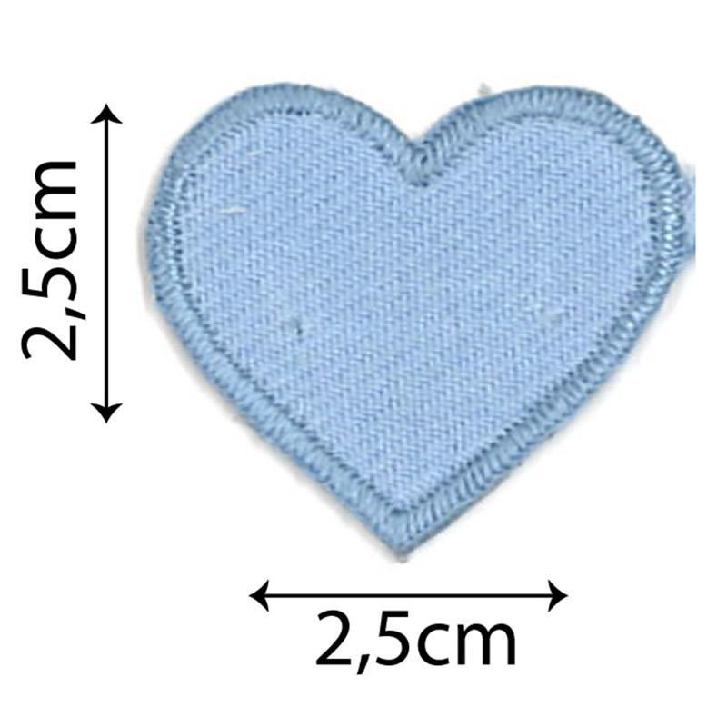 Cuore Mini Azzurro
