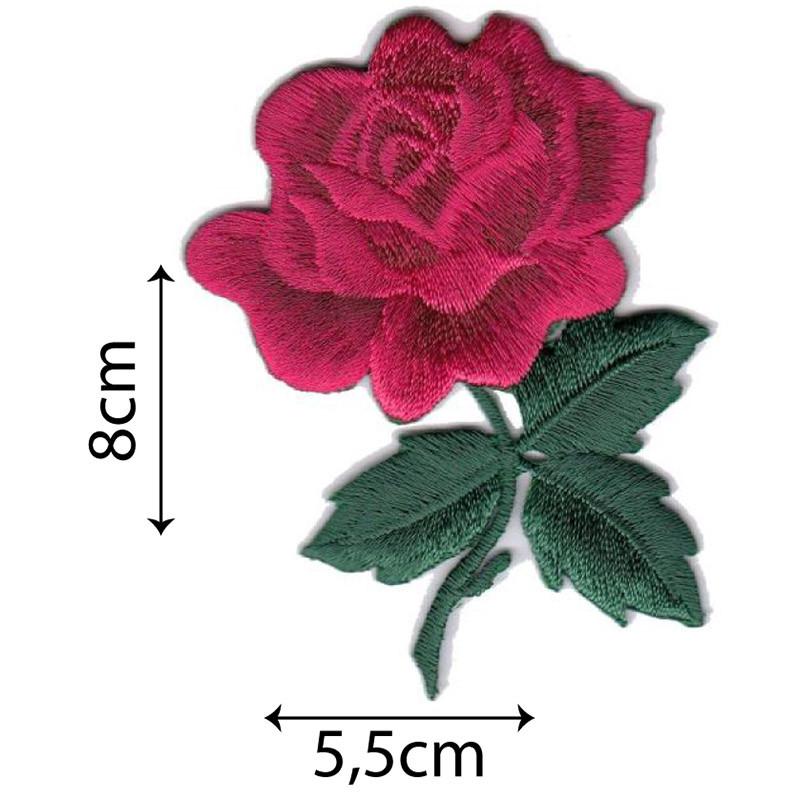 Rosa con Gambo Rosso