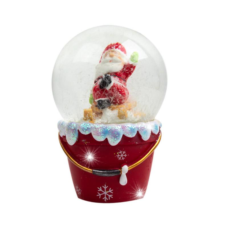 Palla di Neve Babbo Natale