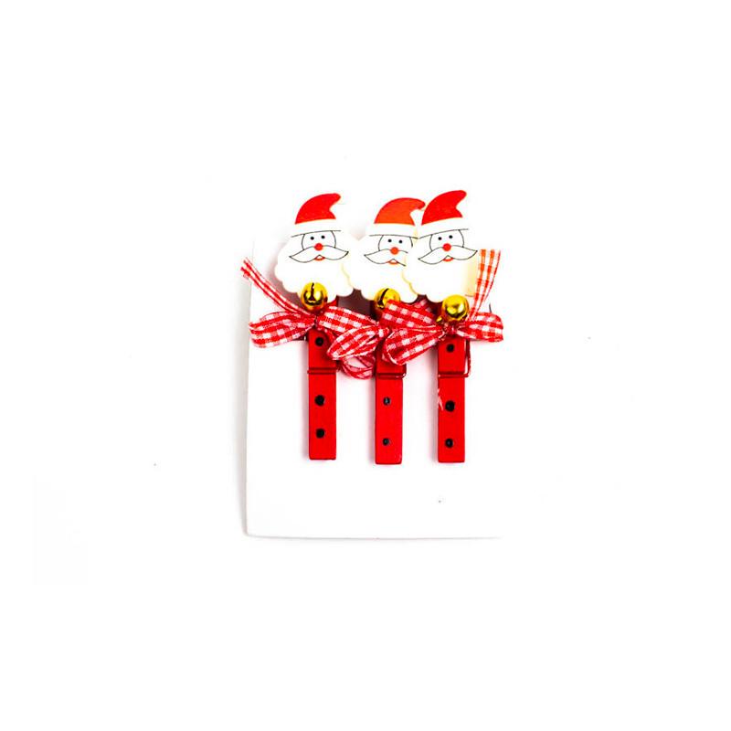 Set 3 Mollette Babbo Natale