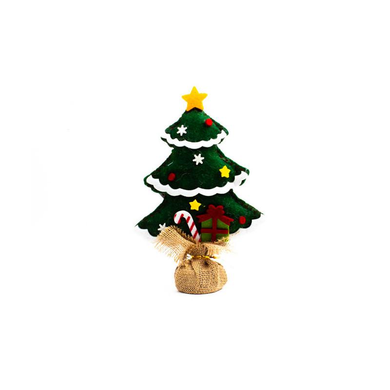 Albero Natale 27 cm Verde