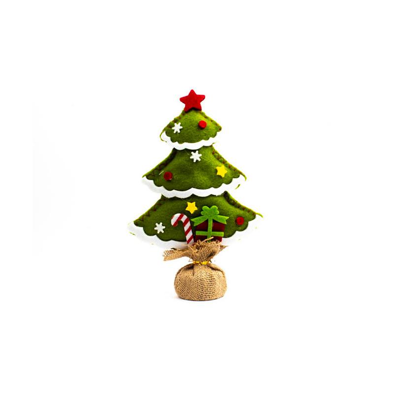 Albero Natale 27 cm Verde Chiaro