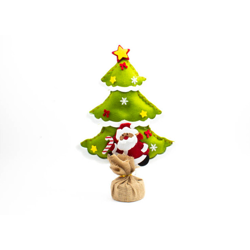 Albero Natale 38 cm Verde Chairo