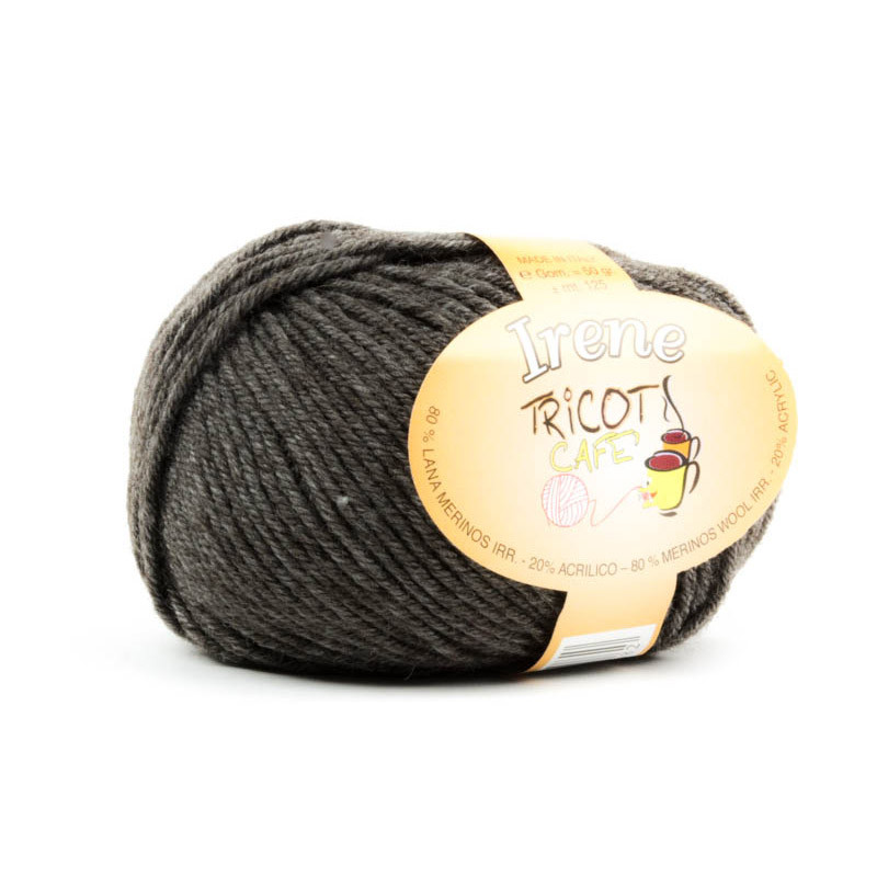 Irene - Filato misto lana merinos irristringibile - Tortora Melange 32