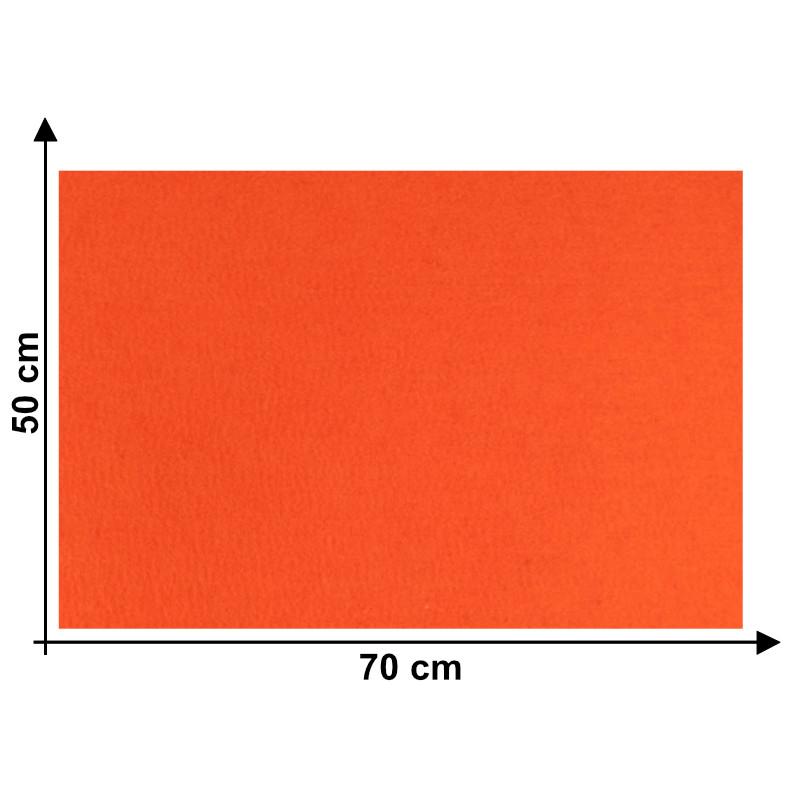 Feltro 5mm Arancio Scuro E