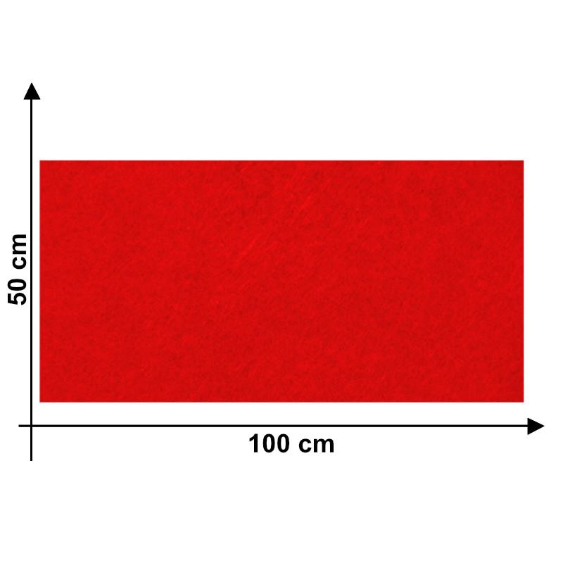 Feltro 3mm Rosso F