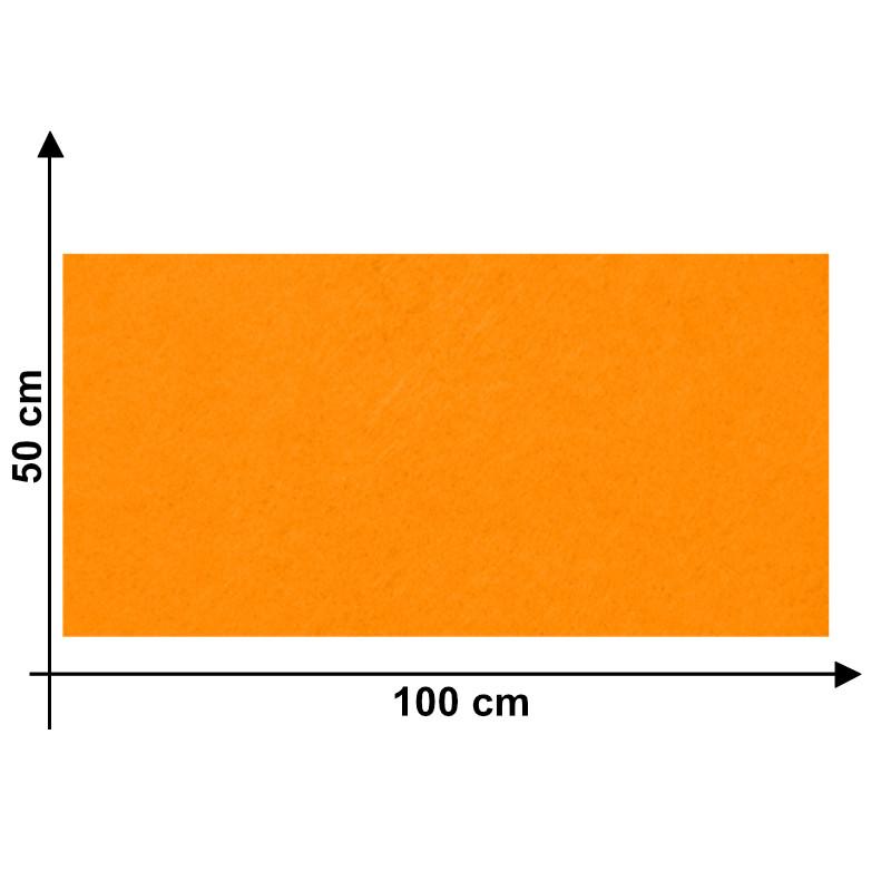 Feltro 3mm Arancio H