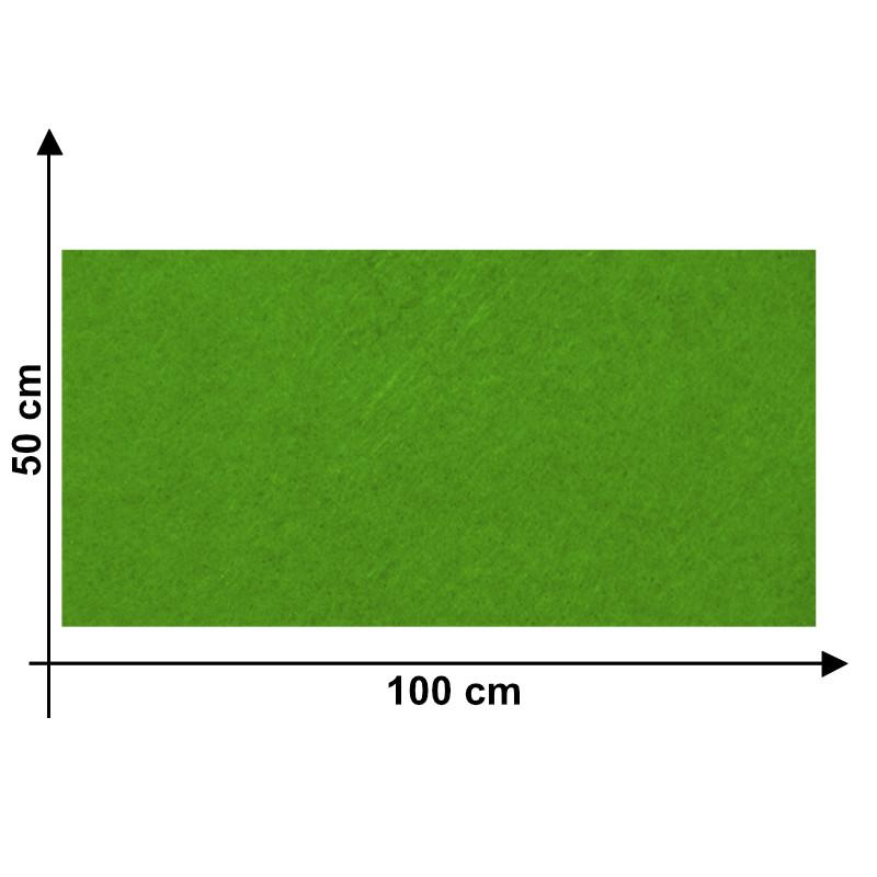 Feltro 3mm Verde Acido K