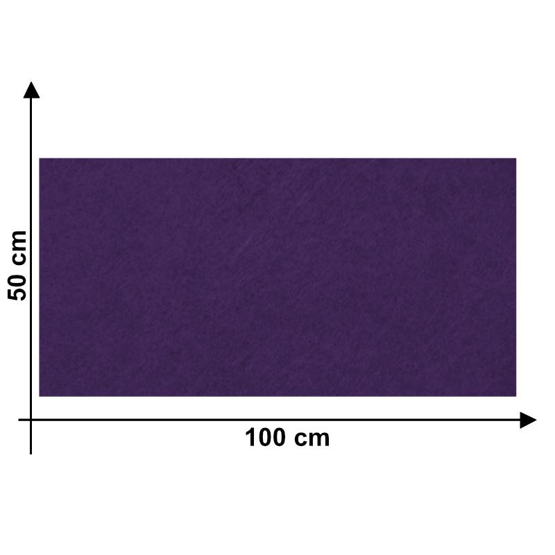 Feltro 3 mm Viola L