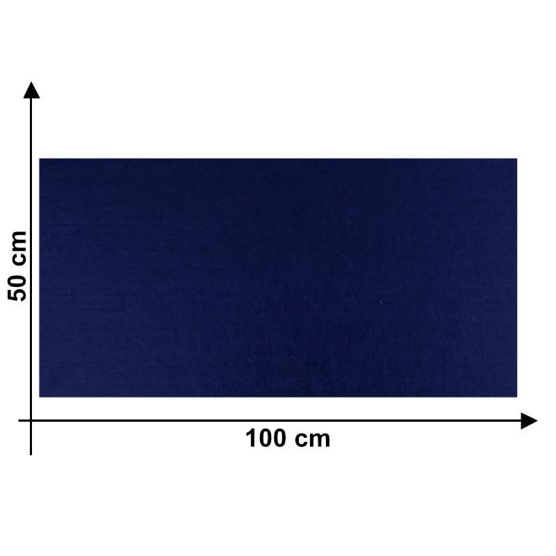 Feltro 3mm Blu Scuro M