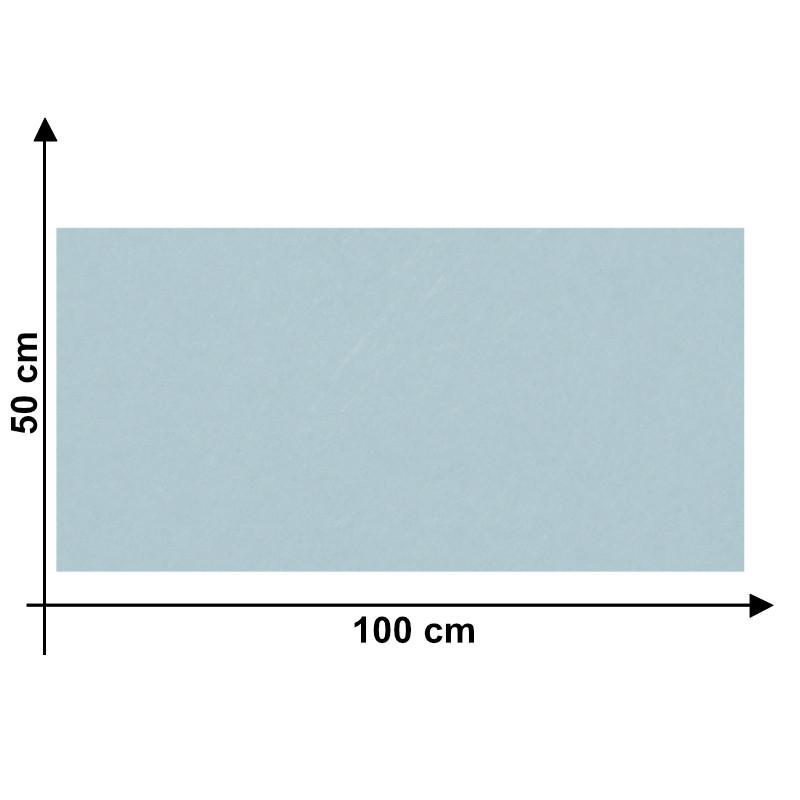 Feltro 3mm Azzurro Baby O