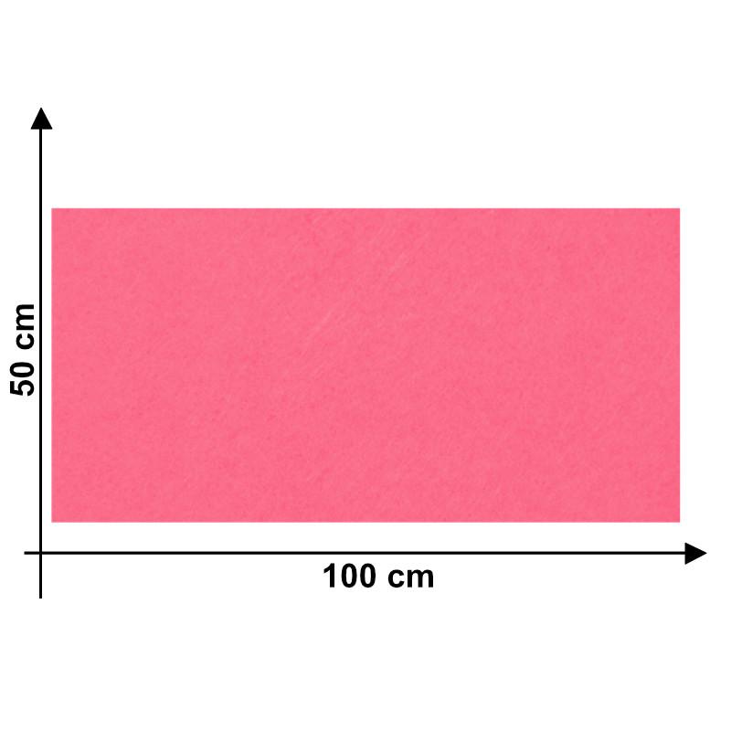 Feltro 3mm Rosa Q