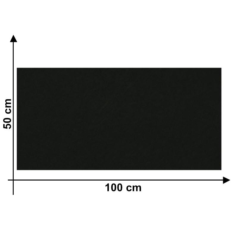 Feltro 3mm Nero U