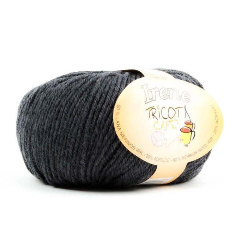 Irene - Filato misto lana merinos irrestringibile - Antracite 8