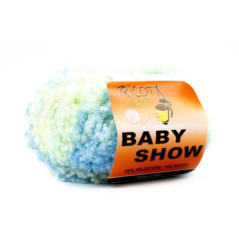Baby Show 0943 Misto Verde-Azzuro Baby