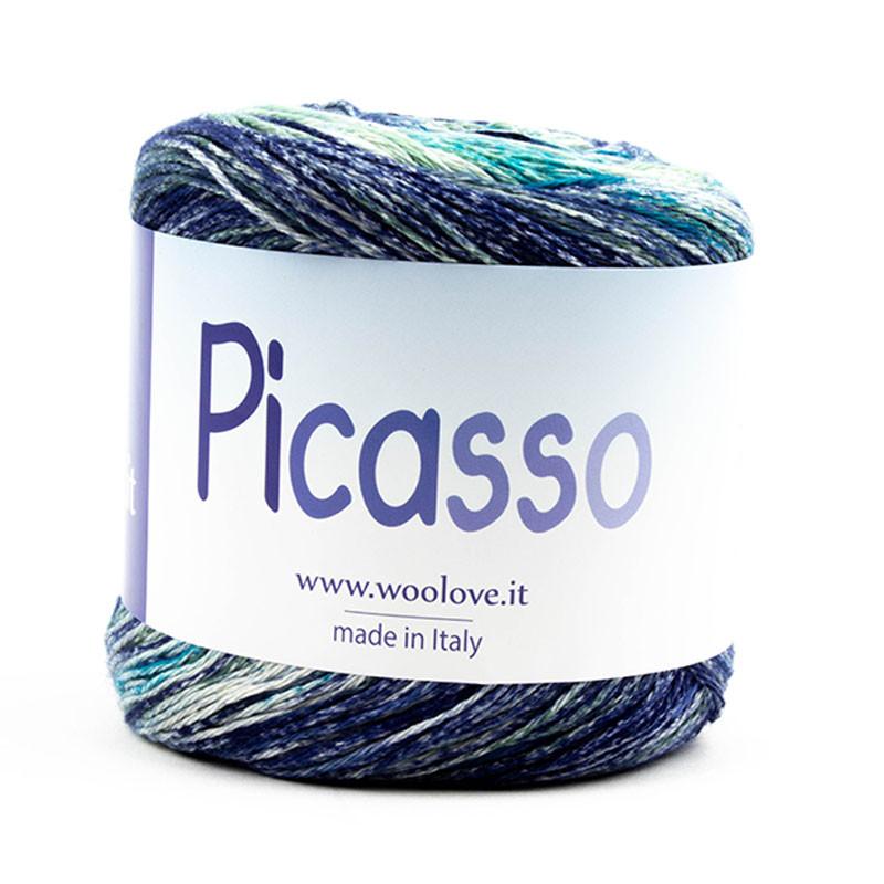 Picasso 60 Misto Blu-Turchese