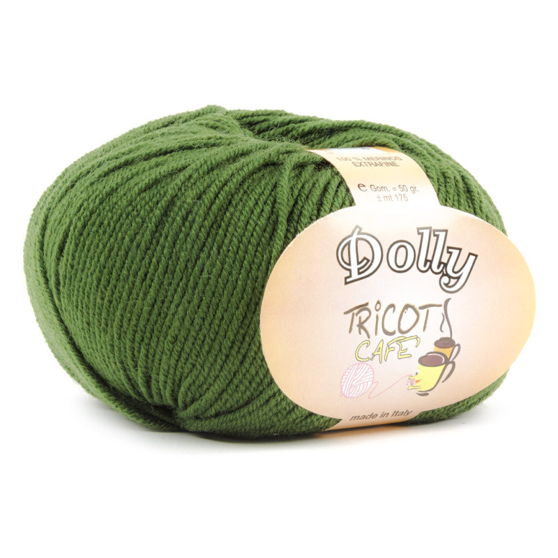 Dolly - Filato Pura Lana Merinos Extrafine - Verde Scuro 20