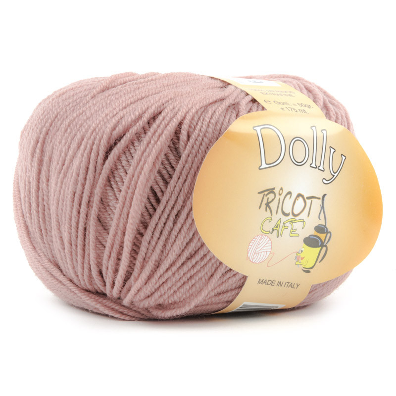 Dolly - Filato Pura Lana Merinos Extrafine - Rosa Antico 13